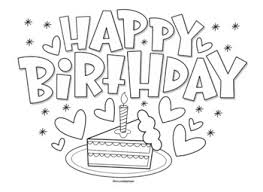 Coloring and drawing on kids birthday is the best idea to keep them. Happy Birthday Coloring Page By Mrs Arnolds Art Room Tpt