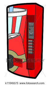 Vending Machine Clipart Custom Clipart Of Vending Machine K48 Search Clip Art Illustration