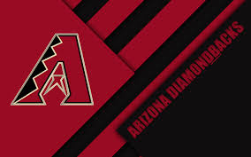 Download Wallpapers Arizona Diamondbacks Mlb 4k Red Black