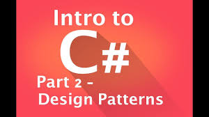 Unity Design Patterns C Part 2 Design Patterns An Intro To C Using Unity