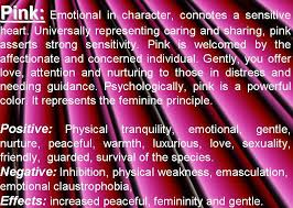 pink color psychology