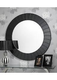 round wall mirror black frame designs