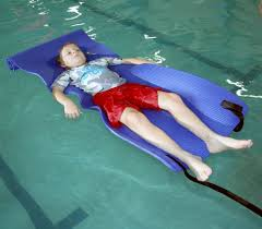 Image result for floating in pool cast on leg