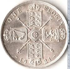 2 shillings (florin) 1920-1926, United Kingdom - Coin value - uCoin.net