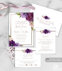 Wedding Invitations Templates Purple 31 Purple Wedding Invitations Memberylondon
