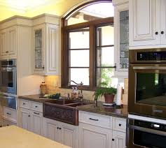 san go copper countertops cost with stainless steel warming drawers kitchen traditional and hardware hammered sink