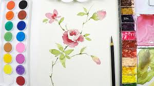 lvl3 flower painting tutorial step by step you