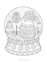 Once you find a printable coloring page you love, you want to make sure to use a set of colored pencils that you love i know it sounds silly, but having a nice set coloring books for adults. 100 Best Christmas Coloring Pages Free Printable Pdfs