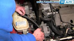 how to install replace serpentine belt oldsmobile alero l how to install replace serpentine belt oldsmobile alero 99 04 2 4l 1aauto com