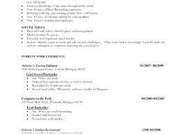 Waiters Job Description Waitress Duties Resume Cocktail Waitress ...