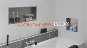 Wandnische Einbau Im Badezimmer Trockenbau Container Box
