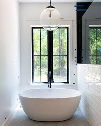 bath lighting ideas. Chandelier Abve Bath Tub Home Ideas Bathroom Lighting Bath Lighting Ideas
