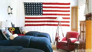red white and blue wall decor attractive red white and blue bedroom decor feature inspirations ideas