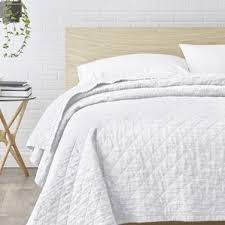 Quilts & Coverlets You'll Love   Wayfair & Susann Quilted Washed Belgian Linen Coverlet Adamdwight.com
