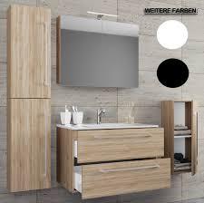 Vcm 5 Tlg Waschplatz Badmöbel Badezimmer Set Waschtisch Waschbecken