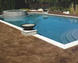 outdoor concrete stamping st louis pool deck resurfacing mo call decks patio paint cool decking