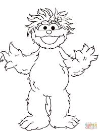 Adult ~ Sesame Street Coloring Pages Sesame Rosita Online Pages ...