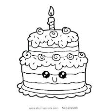 Coloring Pages Of Cakes Cake Coloring Pages Printable Download Cake