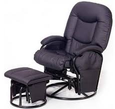 hauck metal glider 11 armchair black