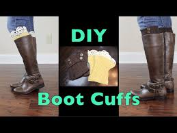 simple diy boot cuffs using upcycled sweaters mariaantoinettetv