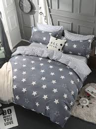 bedding set stars pattern modern style comfy home linen set share