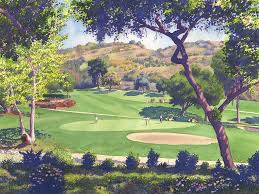 pala mesa golf course by mary helmreich