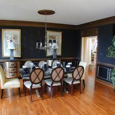 chair rail molding ideas clear all elegant um tone wood floor dining room photo in dc metro with blue walls