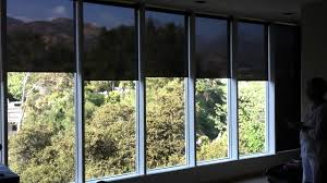 Q Motion Motorized Roller Shades by 3 Day Blinds