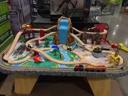 kidkraft waterfall all junction train set table