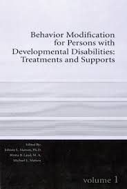 behavior modification for persons developmental disabilities  behavior modification for persons developmental disabilities