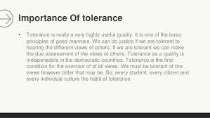 tolerance 12