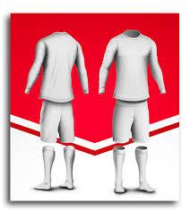 Football Kit Template On Behance