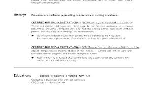 Samples Of Cna Resumes Free Resume Samples Cna Resume Sample With No ...