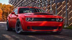 Wallpaper Dodge Challenger SRT Demon, 2018, HD, Automotive / Cars ...