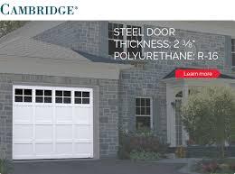 cambridge garage door