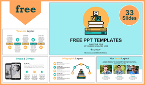 Ppt Template For Academic Presentation Free Education Powerpoint Templates Design