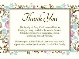 Blank Thank You Card Template Word Samples Of How To Write Thank You Notes After A Funeral