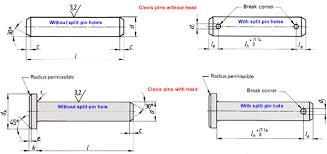 Clevis Pin Dimensions Metric