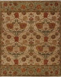 stickley jamawar arts crafts beige green area rug