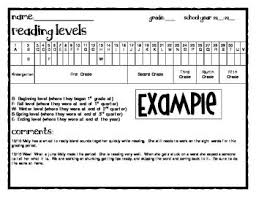 Rigby Guided Reading Levels Chart Free Student Guided Reading Level Chart Guided Reading