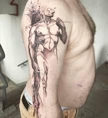 David Michelangelo Michelangelosdavid Anatomy Anatomicaltattoo