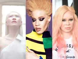 3 women with albinism share their makeup routines