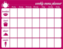 weekly menue planner best 25 weekly menu template ideas on pinterest menu planners