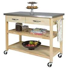 stainless steel table top. Image Is Loading Kitchen-Island-Utility-Cart-Stainless-Steel-Table-Top- Stainless Steel Table Top A