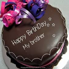 Happy Birthday Chocolate Cake For My Brother 500500 Ab