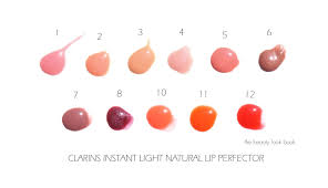Clarins Instant Light Natural Lip Perfector Duo Clarins Instant Light Natural Lip Perfectors New Shade