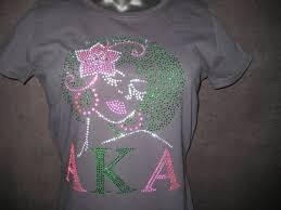 Kappa Size Chart Aka Rhinestone Afro Lady T Shirt Or Tote Bag Please Check