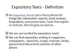 What Is Expository Text Expository Texts Task 4 Mrs Weardens Year 8 Hpl Blog