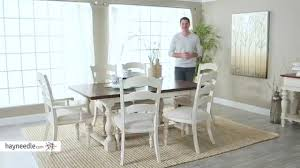 Hillsdale Dining Table Hillsdale Pine Island 7 Piece Trestle Dining Table Set With Chairs