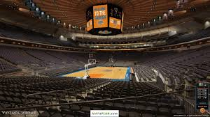 Virtual Seating Chart Stylish And Also Attractive Madison Square Garden Virtual